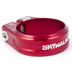 Sixpack Skywalker Morsetto sella Ø34,9mm rosso